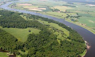 Die Hohe Garbe an der Elbe (RANA/Meyer)