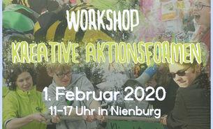 BUNDjugend-Workshop Kreative Aktionsformen